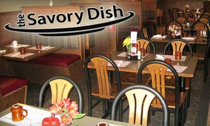 The Savory Dish - Fort Wayne: $7 for $14 Worth of Comfort Fare and Drinks at The Savory Dish