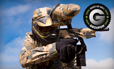 All-Day Paintball Package for 2 (a $70 value) - Hot Shots Paintball in Loxahatchee