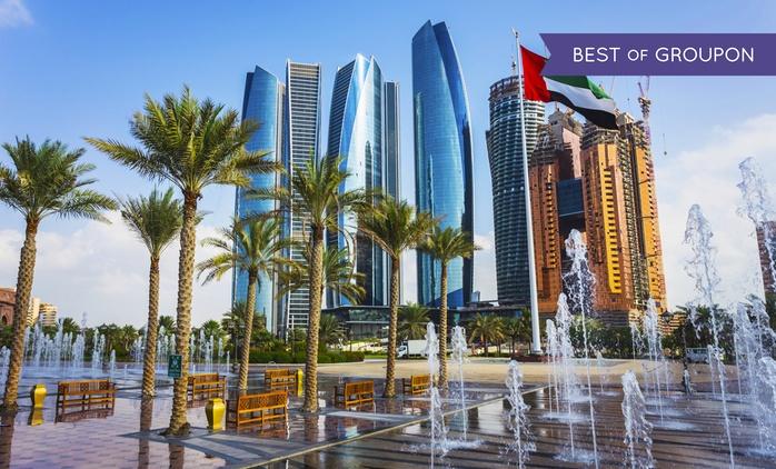 Séjour pour 2 à 4 personnes en chambre Exécutive ou Familiale à Tryp Hotel By Wyndham Abu Dhabi 4*