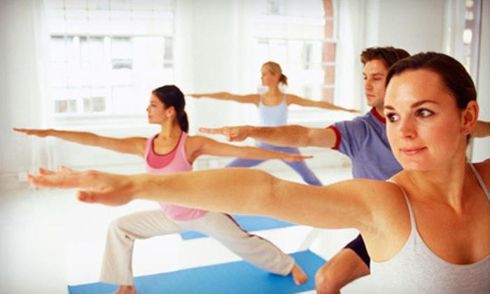 Studio Samadhi - Roanoke: One Month of Unlimited Yoga or 10 Classes at Studio Samadhi in Roanoke (Up to 76% Off)