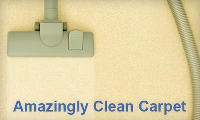 Amazingly Clean Carpet - Akron / Canton: $35 for Two-Room Carpet Cleaning with Deodorizer from Amazingly Clean Carpet ($79 Value)