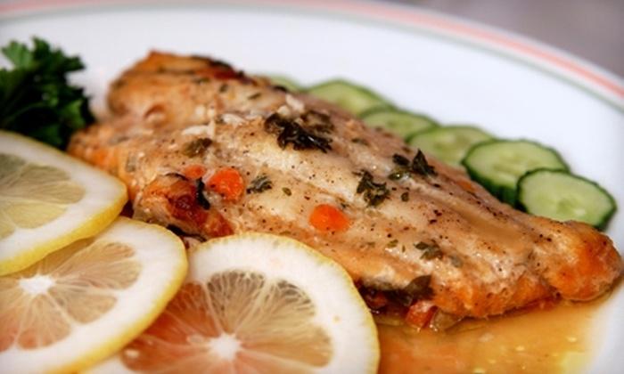 Bruschetta Restaurant - Fairfield: Italian Cuisine for Dinner or Lunch at Bruschetta Restaurant in Fairfield