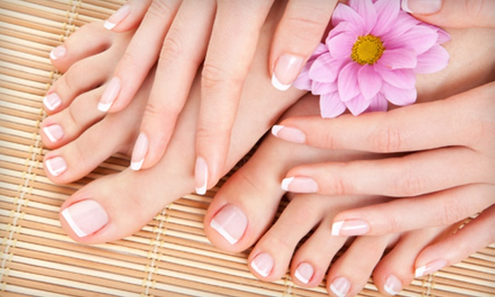 Devine's Salon - Deer Valley: $39 for Manicure and Caribbean Therapy Pedicure at Devine's Salon ($90 Value)