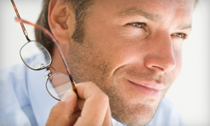Vision and Hearing Institute - Covington: $50 for an Eye Exam and $150 Toward Glasses at Vision and Hearing Institute in Covington ($295 Value)