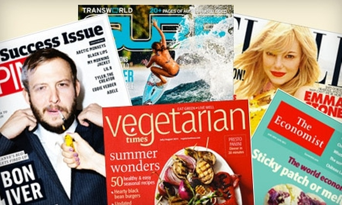 Zinio: $15 for $35 Worth of Digital Magazines from Zinio