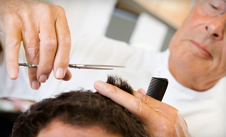 1 Signature Haircut and 1 Shave (a $22 value) - Golden Touch Haircuts & Shaves in Miami