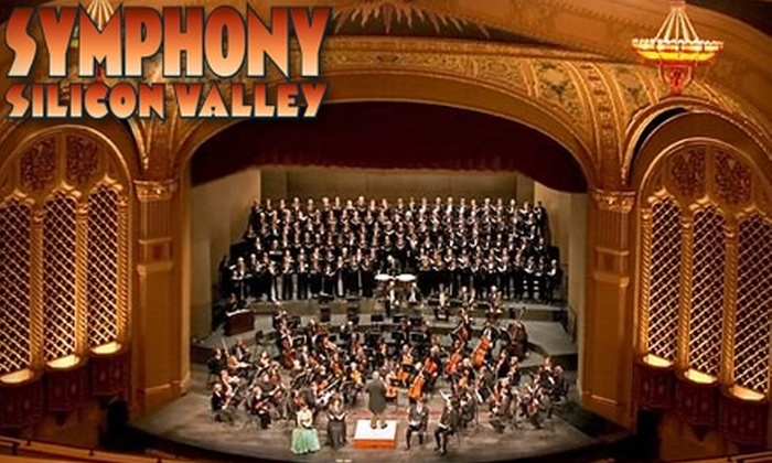 Symphony Silicon Valley - Downtown San Jose: Seat Subscription to Four Concerts at Symphony Silicon Valley (Up to $300 Value). Choose Between Two Seating Levels.
