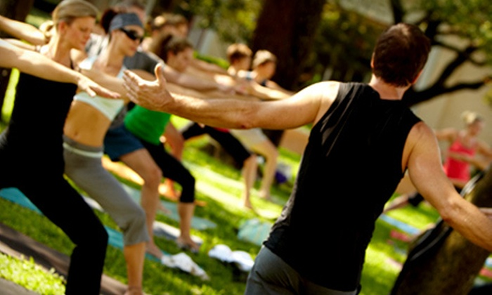 American Power Yoga - Glencoe Park: $25 for 25 Classes at American Power Yoga (Up to $313 Value)