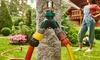 Garden Hose Splitter Two-Ways Metal Body