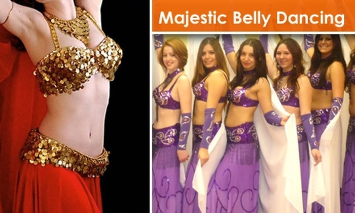 Majestic Belly Dancing - Knolls West: $30 for Three Intro Classes at Majestic Belly Dancing