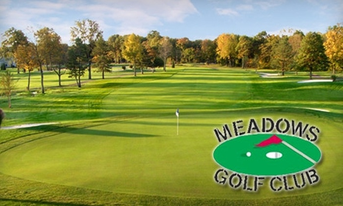 Meadows Golf Club - Lincoln Park: Up to 53% Off 18 Holes of Golf and Cart Rental at Meadows Golf Club in Lincoln Park. Choose from Two Options.