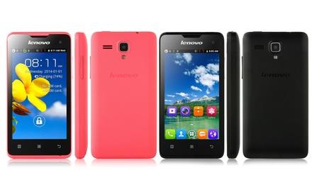 Smartphone tactile Lenovo A396 Android, 4 pouces, avec double emplacement carte SIM à 49,99 € (75% de réduction)