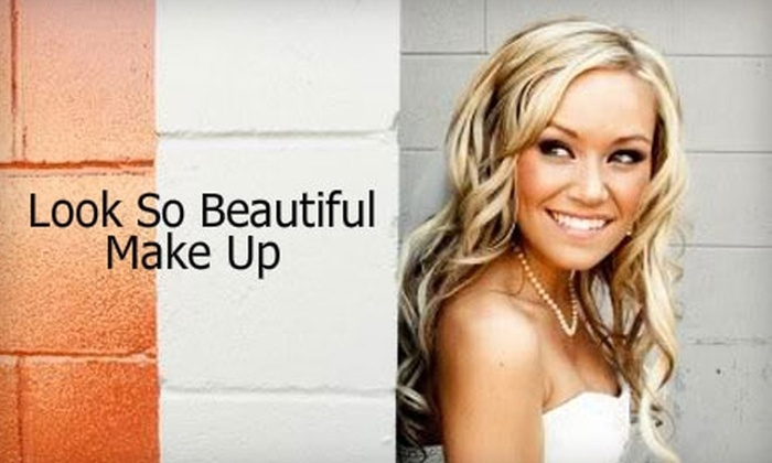 Look So Beautiful Makeup - West End: $62 for a Full Makeup Application, Plus Natural-Looking False Lashes from Look So Beautiful Makeup ($125 Value)