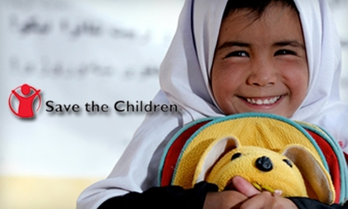 Save the Children: $15 for a $30 Charitable Donation to Save the Children