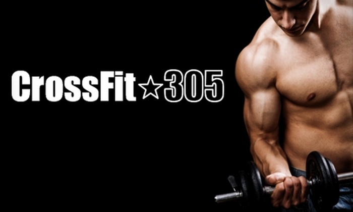 CrossFit 305 - Little Haiti: $30 for One Month of Unlimited Classes at CrossFit 305 ($110 Value)