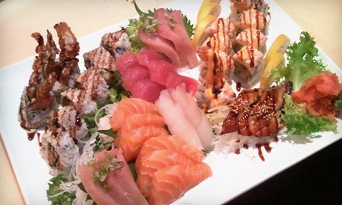 Shogun Restaurant Japanese Steak House - Corpus Christi: $20 for $40 Worth of Sushi and Japanese Fare at Shogun Restaurant Japanese Steak House