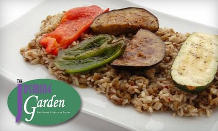 The Jasmine Garden Toronto - Whitby: $10 for $20 Worth of Vegetarian Cuisine at the Jasmine Garden in Whitby