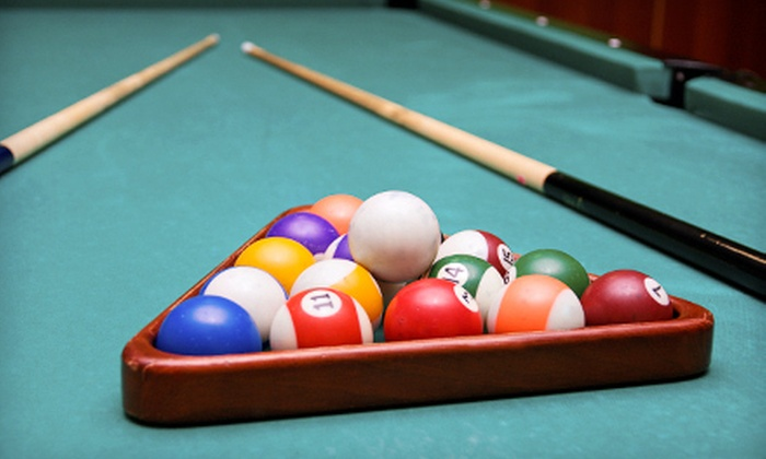 Rickochet Billiards - Wellington: Three Hours of Billiards, Three Hours of Billiards with Bar Fare, or $9 for $18 Worth of Bar Fare at Rickochet Billiards
