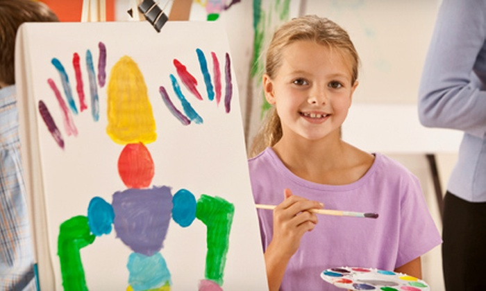 Naperville Art League - Downtown Naperville: Three or Six Seriously Fun Kids' Drop-In Art Classes at Naperville Art League (Up to 60% Off)