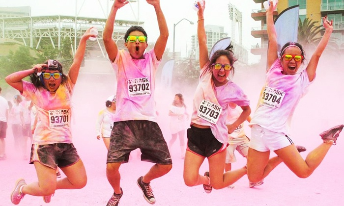 Color Me Rad 5K - Downtown Springfield: $23 for One Entry to the Color Me Rad 5K Run on Saturday, April 12 at 9 a.m. ($47 Value)