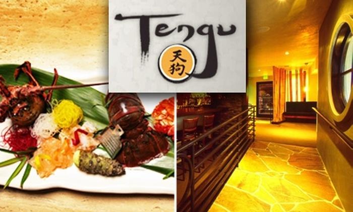 Tengu - Westwood: $20 for $40 Worth of Sushi and Asian Fusion at Tengu