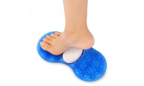 Alfombra de ducha exfoliante para pies