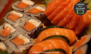 Sushi Mauriti: Mauriti Sushi- Marco: combinado de 45 peças