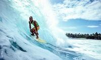 Un cours de surf de 2 heures avec matériel inclus pour 1 ou 2 personnes dès 29,99 € avec Skeepskool au Porge