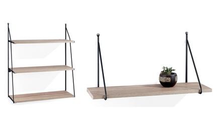 Mensola da parete Tomasucci disponibile in 2 modelli