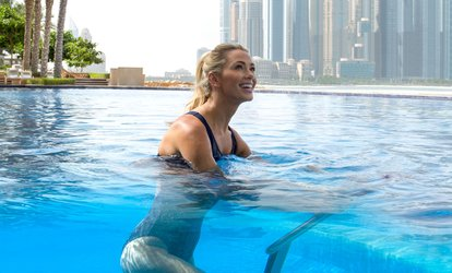 image for One, Five or Ten Sessions of Aqua Spinning at Health Club at 5* Fairmont The Palm
