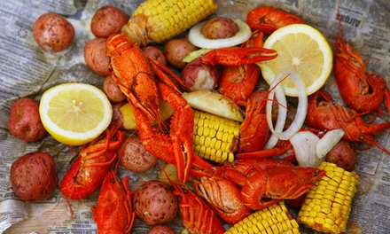 31% Off Seafood Boils and Southern Food at Crawfish King