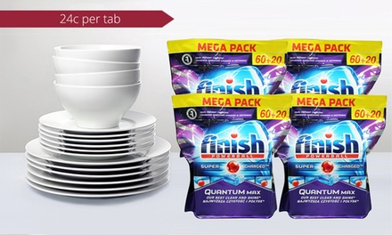 $59 Finish® Quantum® Powerball® Power Gel Dishwashing Tablets