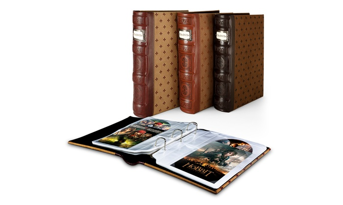 Bellagio-Italia Tuscany DVD Storage Binder (1- or 3-Pack) ...  sc 1 st  Groupon & Bellagio-Italia DVD Binder | Groupon Goods