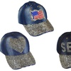 Sparkling Bedazzled Studded Baseball Cap