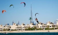 Kite-Surfing or Kite-Boarding Lesson at Kite N Surf (Up to 55% Off)
