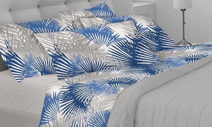 Completo letto fantasia tropicale