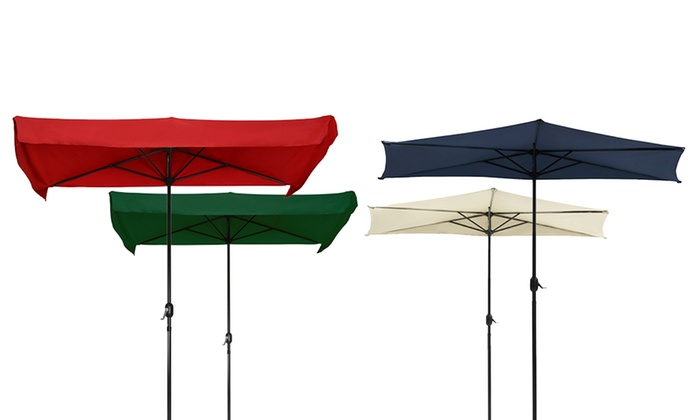 semi parasol mural groupon shopping. Black Bedroom Furniture Sets. Home Design Ideas