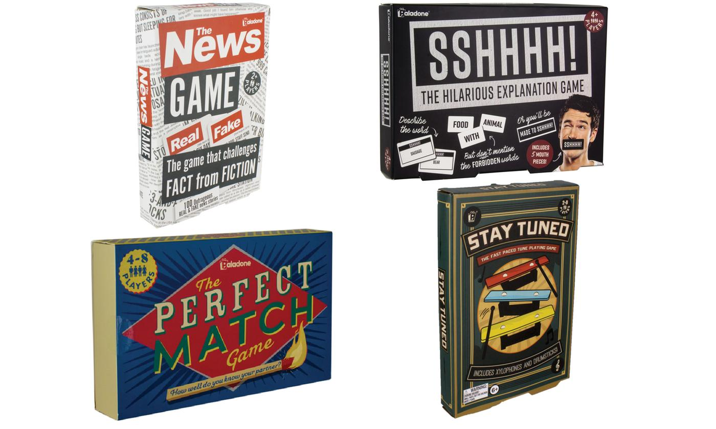 Paladone Card Games Bundle - Set of Four Games
