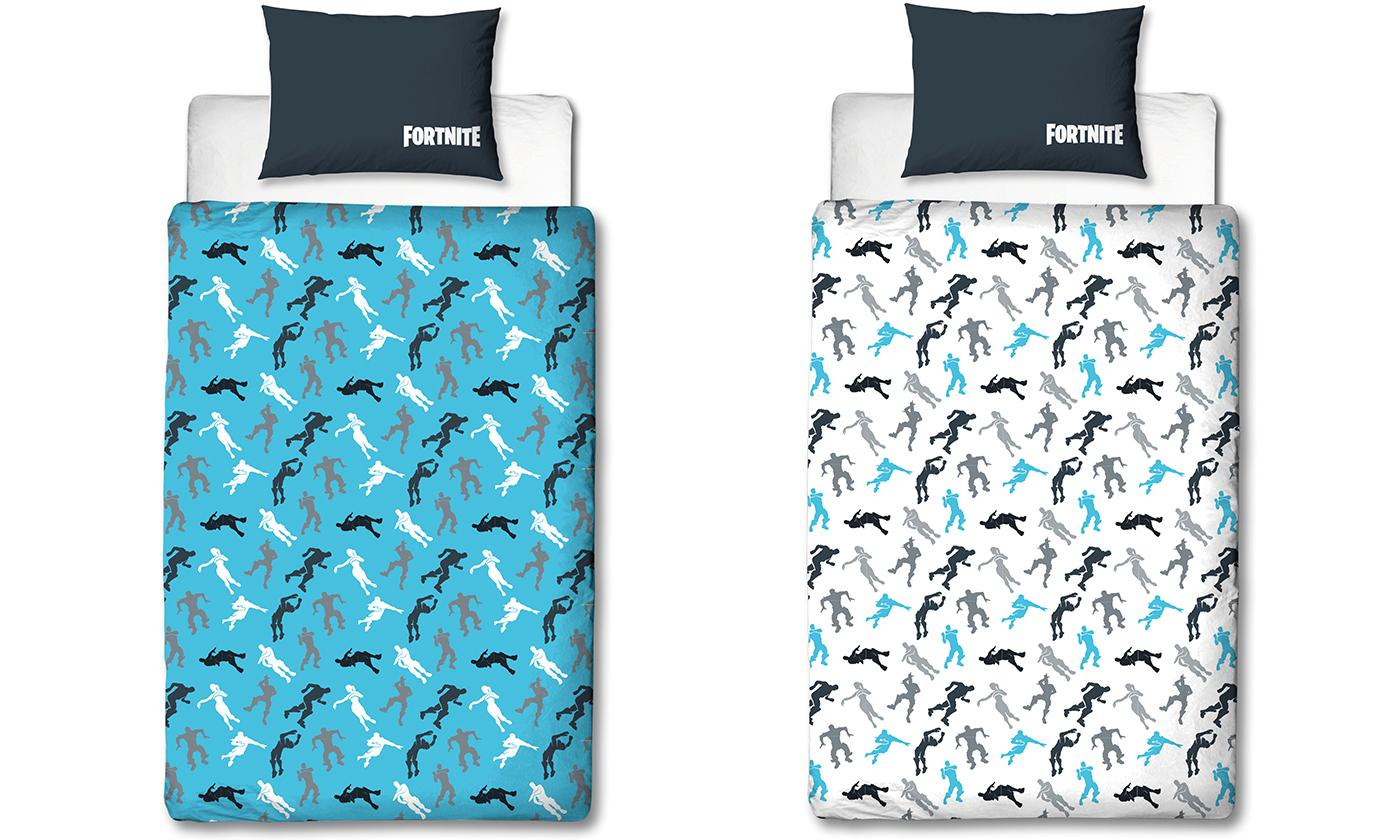 Official Fortnite Reversible Duvet Set DAB Design for £12.98