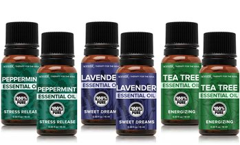 Scentik 100% Pure Essential Oils Set (6-Piece)