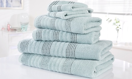 Rapport Home 6 or 12Piece Spa Egyptian Cotton Towel Bale