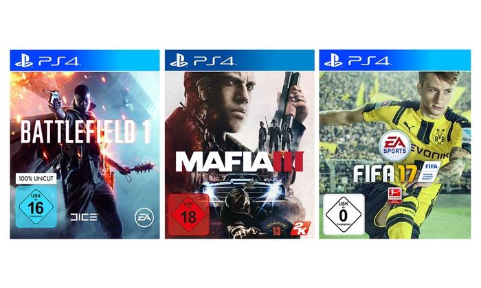 McGame.com: Das ultimative Best of PS4 inkl. Versand (bis zu 43% sparen*)