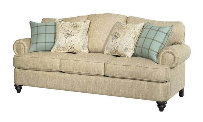 ... Bassett Furniture Barclay Sofas: Bassett Furniture Barclay Love Seat,  Sofa, Or Sleeper Sofa ...