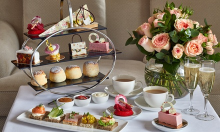 Chocoholics' Afternoon Tea, Optional Champagne for Two at Podium Restaurant and Bar at 5* London Hilton