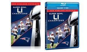 Super Bowl LI Blu-ray and DVD