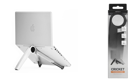 Avanca Black or White Foldable 33mm Laptop Stand