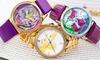 Bertha Silver Strap Watch