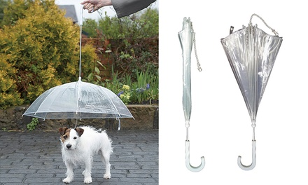 Pet Umbrella Dog Lead: One ($15) or Two ($25)