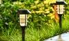Set of Six Pathway Outdoor Solar Lights