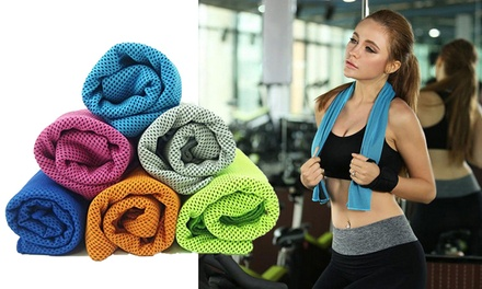 Cooling Workout Towels: Two ($12) or Four ($16) (Don't Pay up to $108)